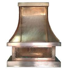 """Briton Tudor Style Copper Chimney Cap by ClassicCopper.com (Size 36"""" - 48"""")"""