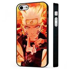 Naruto Uzumaki Manga Anime BLACK PHONE CASE COVER fits iPHONE