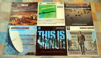 Studio 2 Stereo / MFP Sampler vinyl LP records x 6  Job lot bundle - all graded