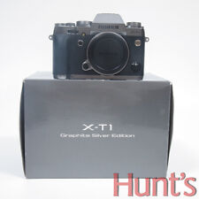 FUJI FUJIFILM X-T1 16.3MP APS-C CAMERA GRAPHITE SILVER EDITION *NEW OPEN BOX*