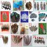 "Wholesale 10-100PCS 2-18cm /1-7"" Beautiful Pheasant tail & Peacock Feathers diy"