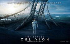 Unused Oblivion DVD + Digital Ultraviolet HD Stream Download, Case and Artwork