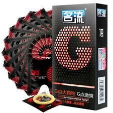MingLiu 10pcs G-pot Condom Natural Rubber Super Thin Lubricated Male Condom