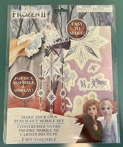 Disney Frozen 2 II - DIY Hanging Mobile Craft Set -  Elsa Anna - NEW