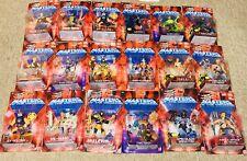 He-Man, Masters of the Universe Figure, lot, set of (18) 1982, 2002, MOC, Rare!