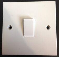 10x 1 Grupo 1 ENTRADA 6a Estándar eléctrico Lámpara de pared interruptor