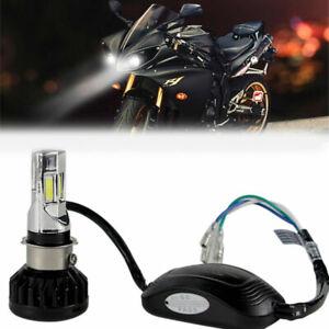 H4 HS1 BA20D P15D H6 Motorcycle Headlight Led Bulb 3500LM 35W 6000K 6 COB lamp