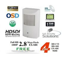 "1/3"" 2.8MP Sony Exmor 3.6MM Covert Motion Detector EX-SDI / HD-SDI / CVI / 960H"