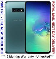DUAL SIM SAMSUNG GALAXY S10e SM-G970F 128GB SIM FREE UNLOCKED UK PHONE