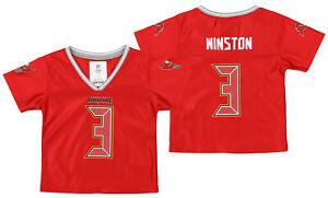 Outerstuff NFL Toddler Girl Tampa Bay Buccaneers Jamies Winston #3 Player Jersey
