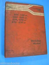 FIAT TRATTORI  580 680 570 670 DT  WORKSHOP MANUAL