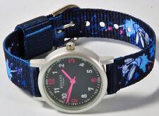 Regent montre bracelet pour enfants bleue avec en tissu à 7834.11.14 NEUF