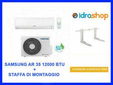 CLIMATIZZATORE CONDIZIONATORE SAMSUNG AR35 12000 BTU INVERTER R32  CON STAFFA