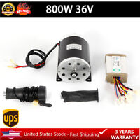 800W 36V electric motor brushed kit w control box & Thumb Throttle MY1020 SALE