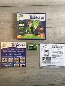 LeapFrog Leapster Explorer Ben 10 Ultimate Alien Learning Game Leap Ages 5-8