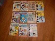 Vintage lot of Richie Rich Comics Magazine series