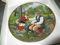 KAISER Porcelain Classic Fairy Tales PUSS IN BOOTS Collector Plate G NEUBACHER
