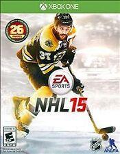 NHL 15 (Microsoft Xbox One, 2014) ~ Used Complete ~