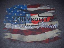 Chevrolet American Muscle Patriotic T-Shirt XL - Malibu, Nova, Camaro, SS, NEW