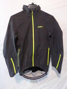 Louis Garneau 4 Seasons Jacket Men's Medium Asphalt Retail $259.99
