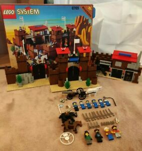 LEGO Western Fort Legoredo 6762 w/ box NO MANUAL and missing stickers
