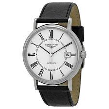 Longines La Grande Classique Automatic White Dial Stainless Steel Mens Watch