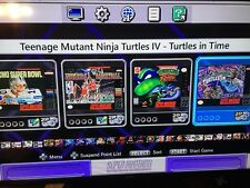 Super Nintendo System Snes Classic Edition Mini Added 190 Games! Fast Ship! New