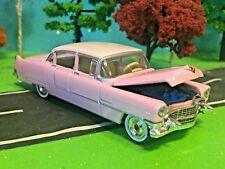 Cadillac, 1955 Fleetwood, Pink Caddy, Working Hood, Beautiful and Very RARE Car!