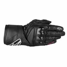 Alpinestars Stella SP-8 Leather Motorcycle Womens Gloves - Black, Size L (3518313-10)