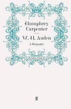 W. H. Auden: A Biography, Good Condition Book, Carpenter, Humphrey, ISBN 9780571