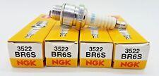 BR6S NGK Spark Plugs #3522 4 Spark Plugs