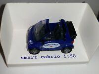 SIKU 1042 Smart Cabrio - WERBEMODELL GEROLSTEINER - RARITÄT 1:50 - NEU