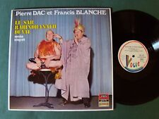 PIERRE DAC & FRANCIS BLANCHE : Le Sar Rabindranath Duval  LP VOGUE CLVLX 552