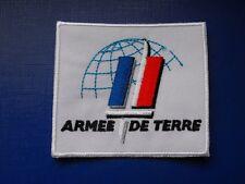 Logo insigne militaire armée écusson brodé patch tissu Armée de Terre Française