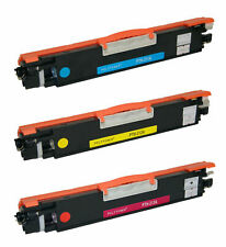 3pk CE311A CMY Toner Cartridge for HP Color LaserJet Pro 100 M175a MFP