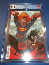Superman #17 Hughes Variant CGC 9.8 NM/M Gorgeous Gem