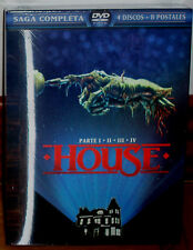 HOUSE I-II-III-IV SAGA COMPLETA DIGIPACK 4 DVD+8 POSTALES NUEVO (SIN ABRIR) R2