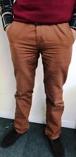 Mens Chino Canvas 10 Colours Slim Fit Straight Leg pant Trouser