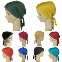 Hat Under Head Cap Scarf Cover Womens Beanie Turban Islamic Wrap Hijab Muslim