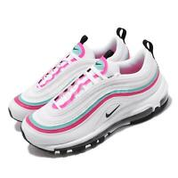Nike Wmns Air Max 97 Summit White Black Pink Turq Women Casual Shoes CT6806-116