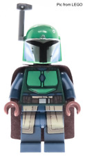 LEGO Star Wars sw1078 Female Mandalorian Minifigure Green Helmet from 75267