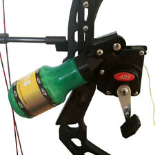 Bow Fishing Reel Compound Recurve Bow Shooting Hunting Tool, Black