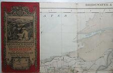 1926 vintage OS Ordnance Survey Popular Edition one-inch map 99 Pembroke & Tenby