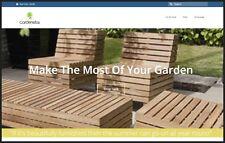 GARDEN FURNITURE Website|$926.40 A SALE|FREE Domain|FREE Hosting|FREE Traffic
