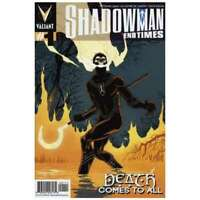 Shadowman End Times #1 in Near Mint + condition. Valiant comics [*2w]