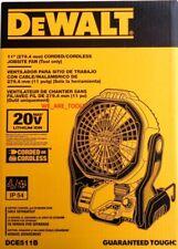 NEW IN BOX Dewalt DCE511B 20V Cordless & Corded 11