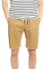 The Rail Jogger Drawstring Shorts Tan 2XL New XXL