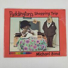 Vintage 1976 Paddington Bear Shopping Trip Coloring Book Michael Bond