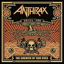 Anthrax - Greater of Two Evils (2LP Black vinyle, Gatefold) 2017 Nuclear Blast