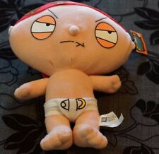 32 cm  Family Guy Stewie Griffin Plush Stuffed Doll Toy VG condition with tag